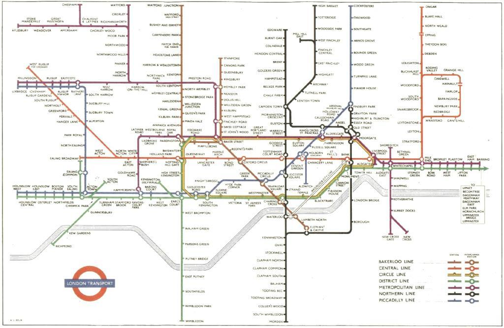 Tube Map Evolution